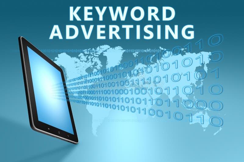 Keyword Advertising royalty free illustration
