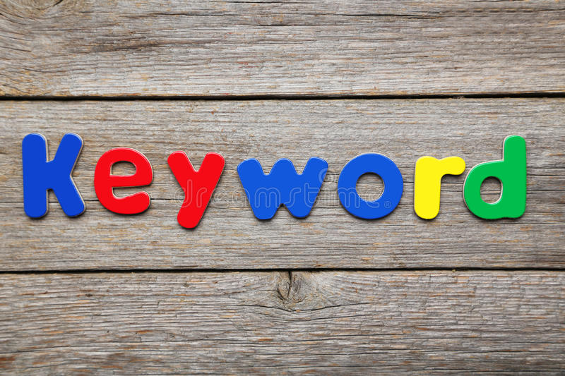 Download Keyword stock photo. Image of letters, play, note, blue - 53756186