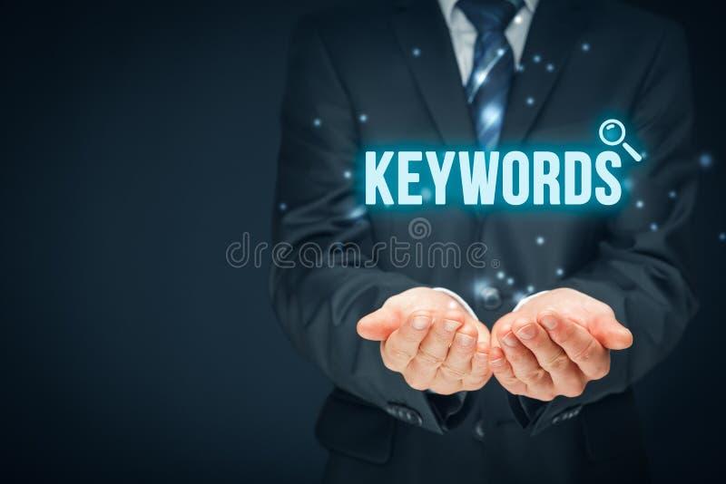 keywords стоковое фото rf