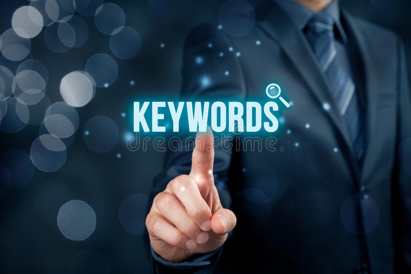 keywords fotografie stock