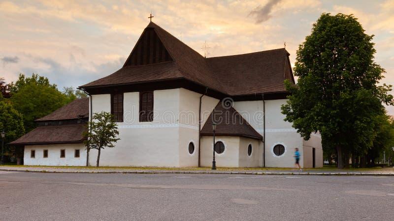 Kezmarok, Slovakia. Church in the town of Kezmarok, Slovakia royalty free stock photography