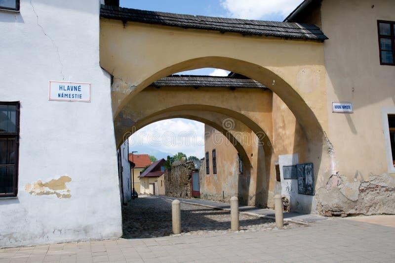 Kezmarok Slovakien royaltyfria bilder