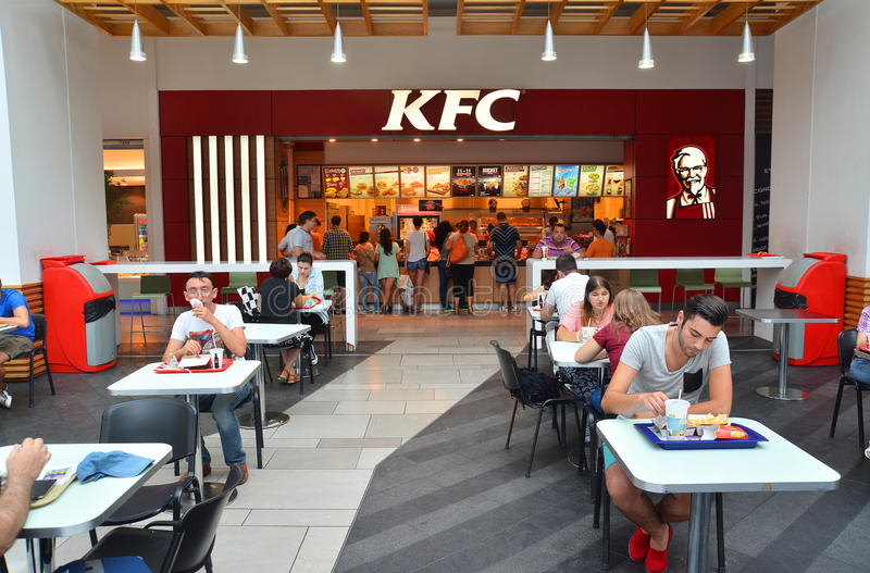 KFC stockfoto