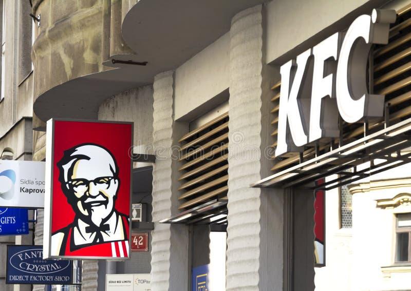 KFC arkivfoton