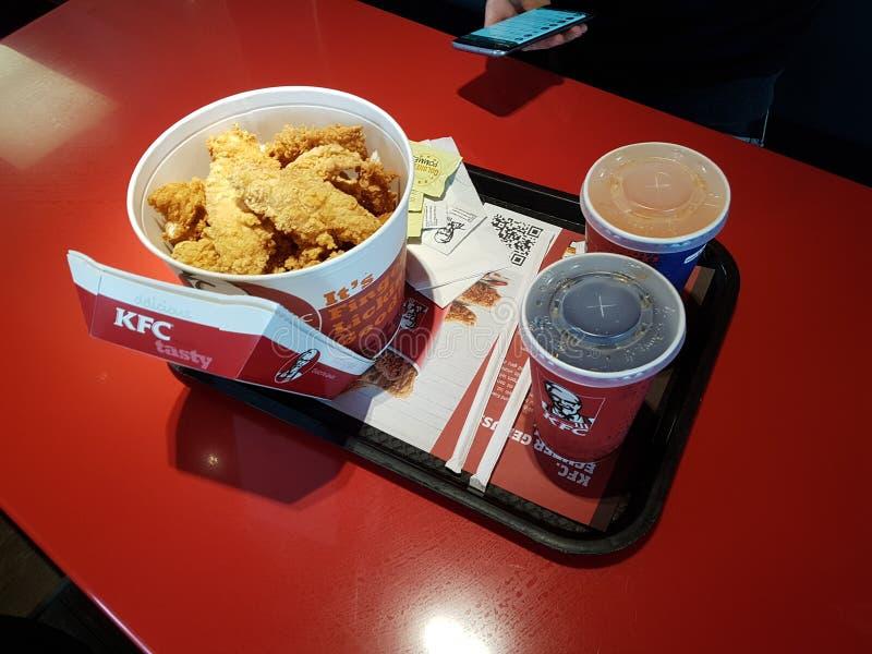 KFC royaltyfria foton