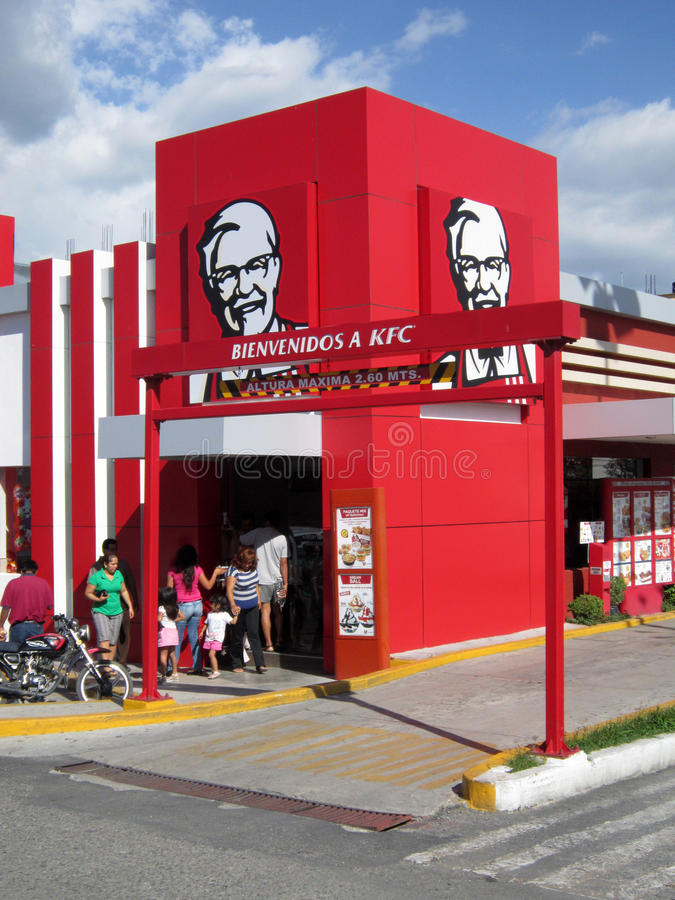 KFC in Chilpancingo Mexiko stockfotos