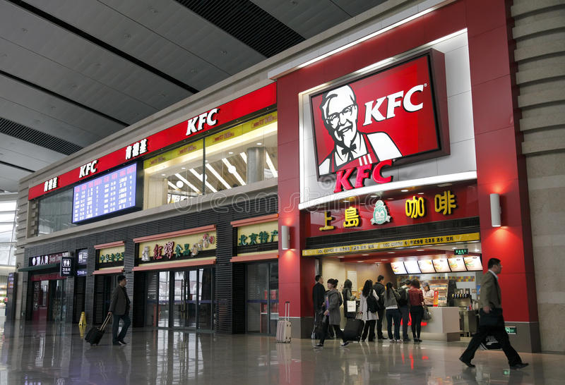 Download KFC fast food restaurant editorial photography. Image of railway - 19289977