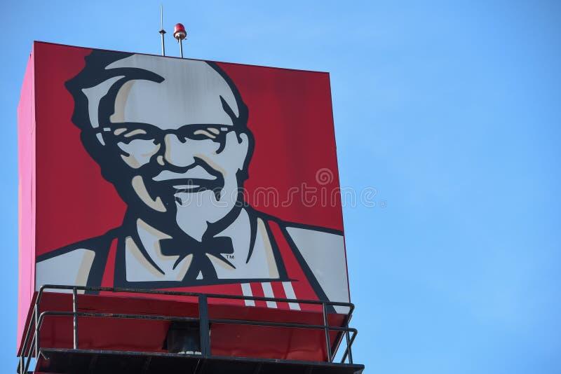 KFC podpisuje zdjęcia stock