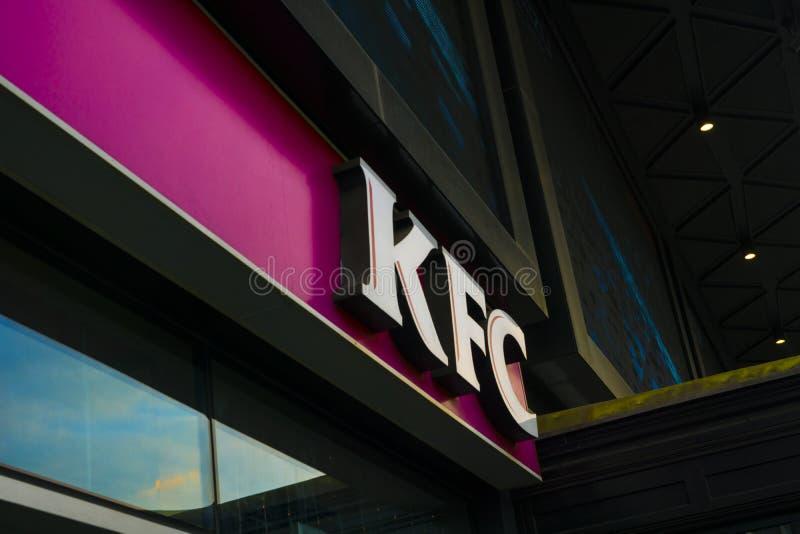 Kfc Restaurant stockbild