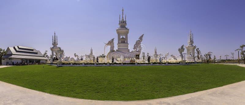 KhA Hatsadiling bouwde voor Luang Phor Koon Parisuttho in Khon Kaen in Thailand stock fotografie