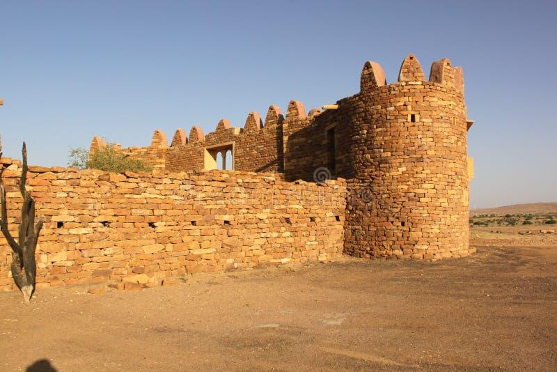 Khaba fort royaltyfria bilder