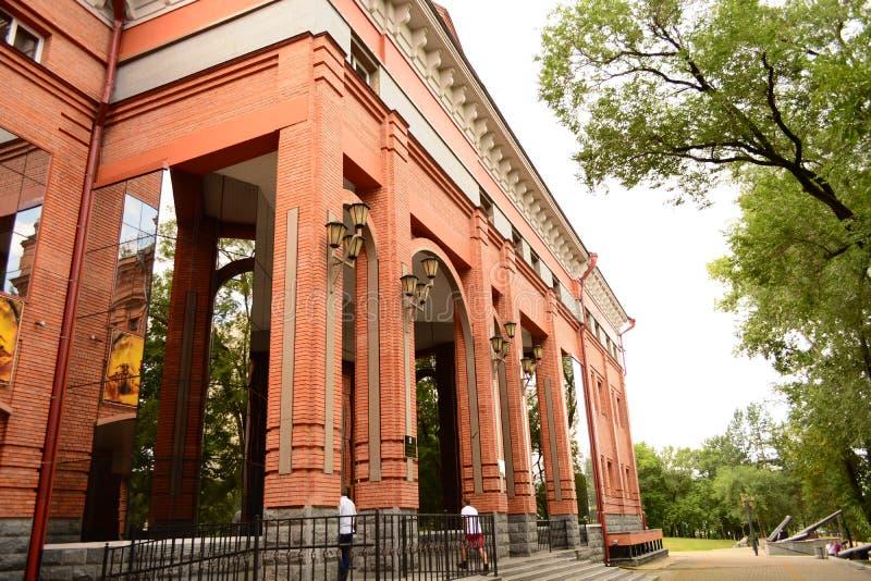 Khabarovskmuseum van Lokale Overlevering stock fotografie