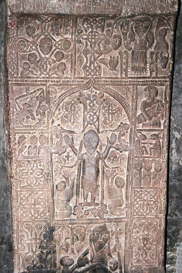 Khachkar ή διαγώνιος-Stone στοκ φωτογραφία με δικαίωμα ελεύθερης χρήσης
