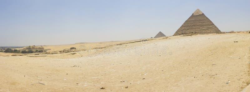 Khafre金字塔  免版税库存照片