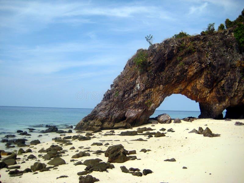Khai海岛(Kho Khai) 库存图片