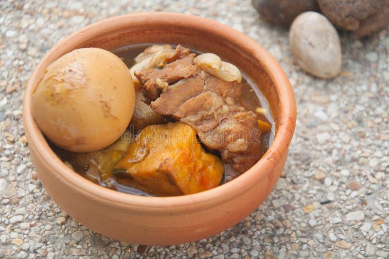 Khaipalo é alimento tradicional tailandês fotos de stock royalty free