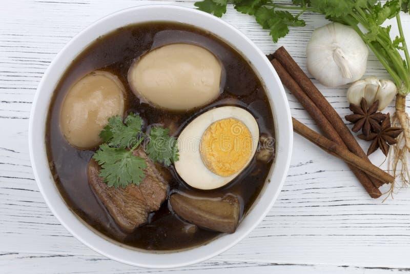 Khaipalo é alimento tradicional tailandês fotos de stock