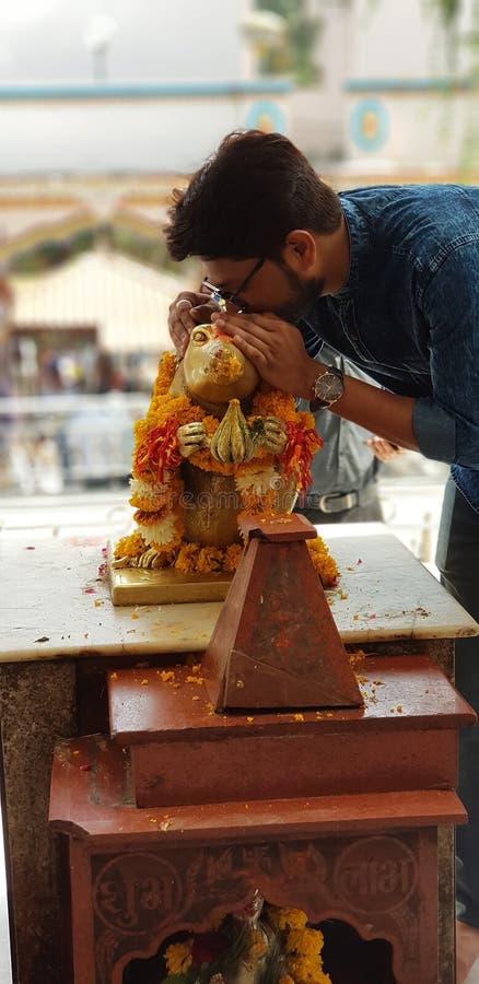 Khajrana-Tempel lizenzfreies stockfoto