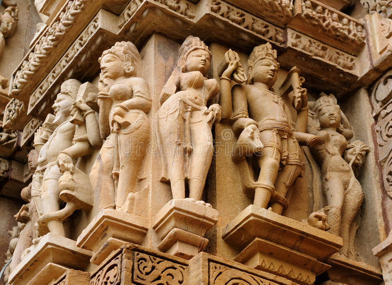 Khajuraho royalty free stock photo