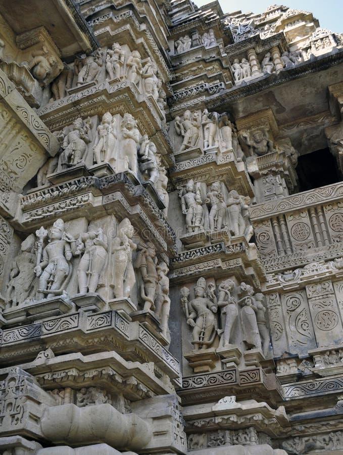 Khajuraho arkivbilder