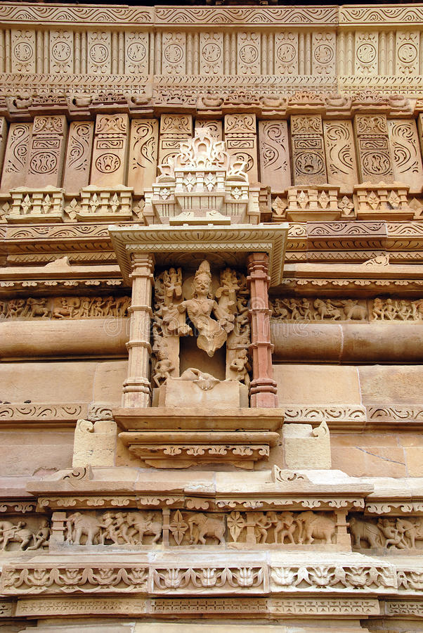 Download Khajuraho Temple in India stock image. Image of india - 27044323