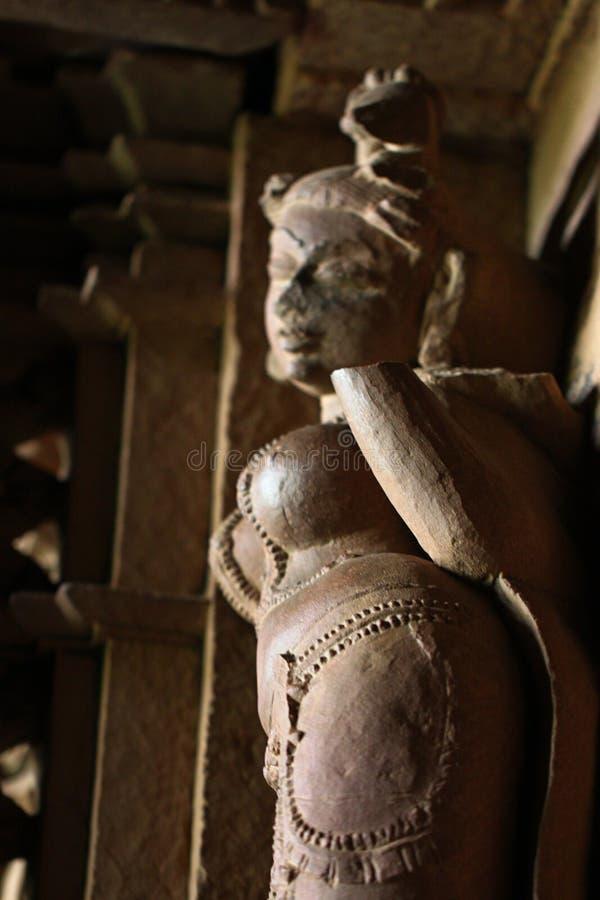 Khajuraho temples and their erotic sculptures, India. Khajuraho, India has manyl Hindu temples, famous for their erotic sculptures royalty free stock image