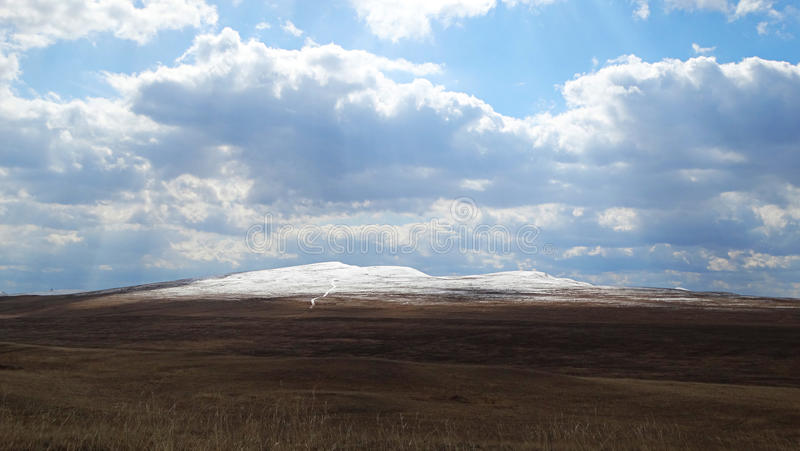 Khakassia Τοπία άνοιξη στοκ φωτογραφία με δικαίωμα ελεύθερης χρήσης