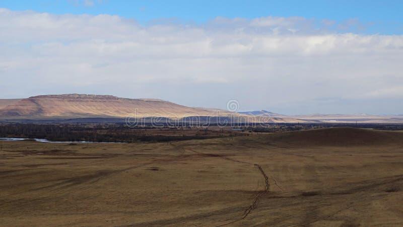 Khakassia Τοπία άνοιξη στοκ φωτογραφίες με δικαίωμα ελεύθερης χρήσης