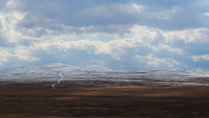 Khakassia. Spring landscapes. royalty free stock photos