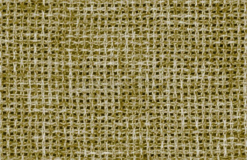 Khaki Brezentowy tło zdjęcie stock