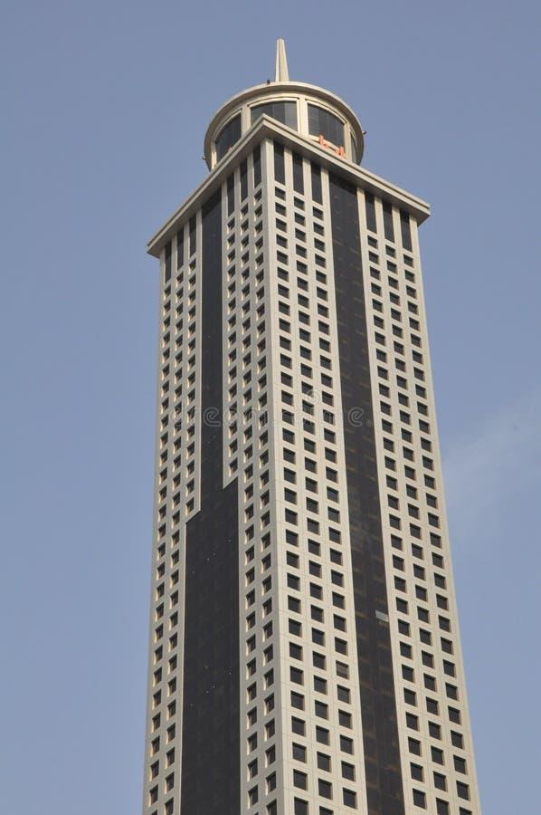 Khalid Al Attar Tower nel Dubai, UAE immagini stock