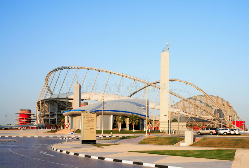 khalifa清真寺体育场 库存图片