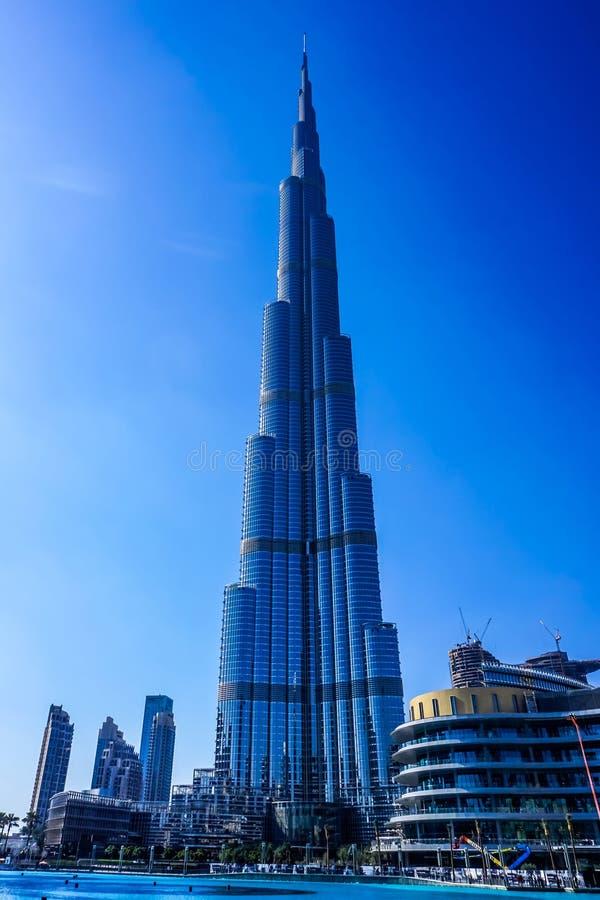 Khalifa del burj della Doubai fotografia stock libera da diritti