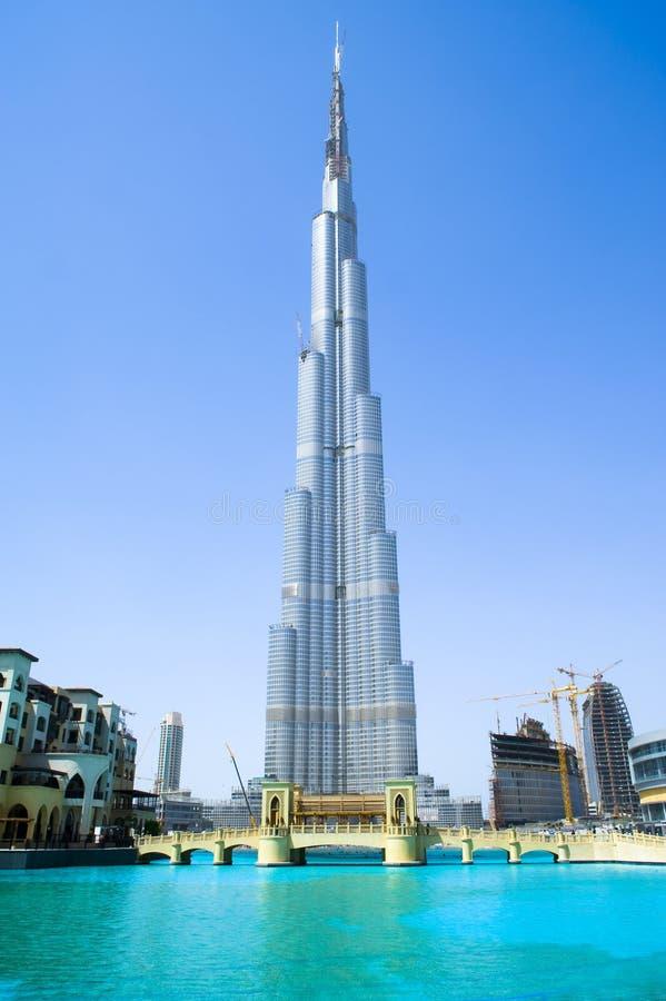 Khalifa Doubai di Burj fotografia stock