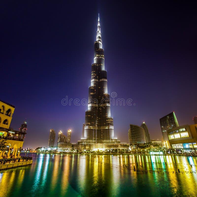 Download Khalifa Dubaï de Burj photo stock. Image du beau, aube - 26045046