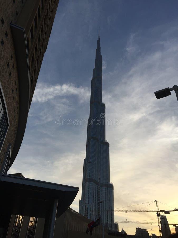Khalifa Kontrollturm stockfoto