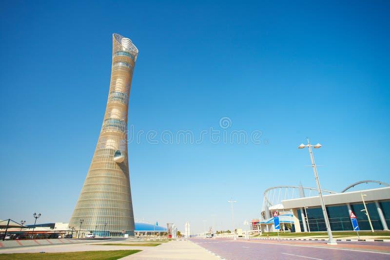 Khalifa sportów stadium zdjęcie stock