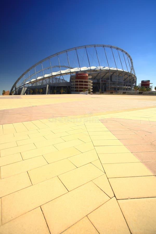 khalifa sport stadionie obraz stock