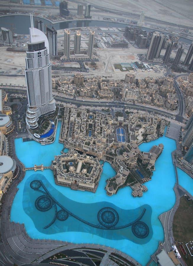 Khalifa van Burj royalty-vrije stock foto's