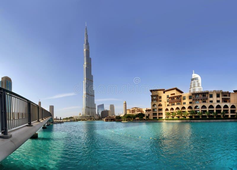 Khalifa van Burj stock foto