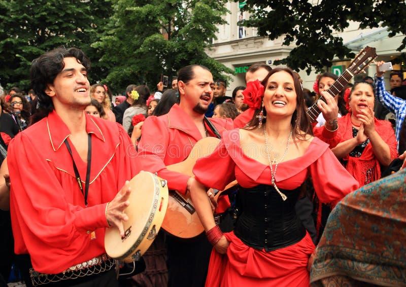 Khamore - world roma festival stock photo