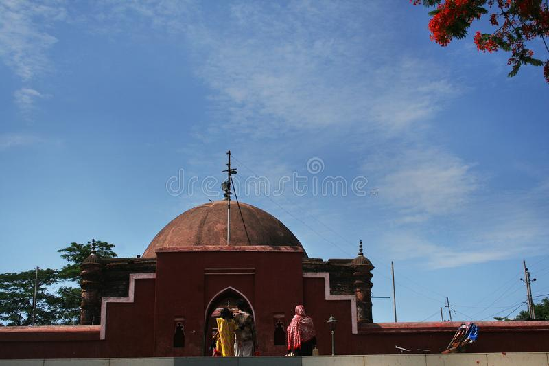 Khan Jahan Ali Tomb. Bagerhat, Bangladesh stock images