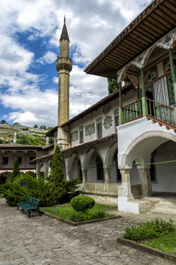 Khan& x27; palacio de s en Bakhchisarai La Crimea foto de archivo libre de regalías