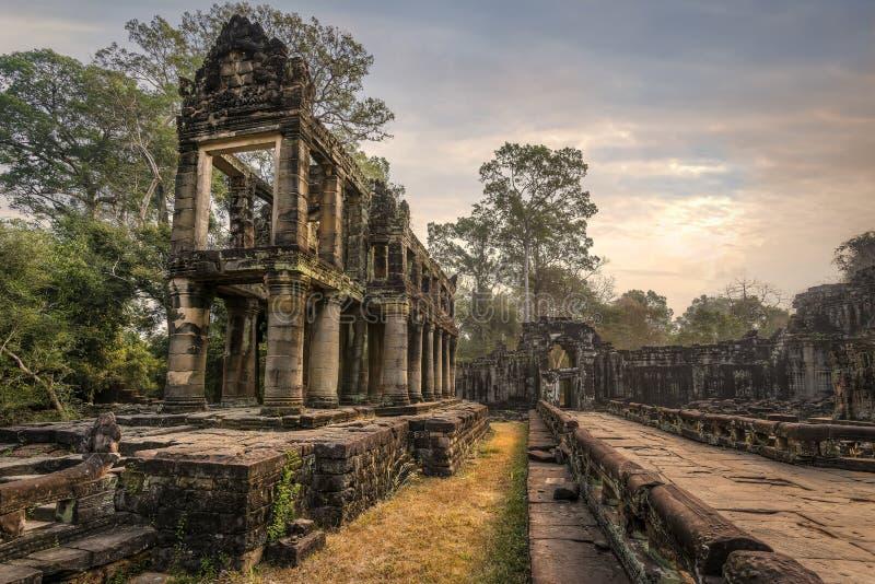 Khan Preah stock afbeelding