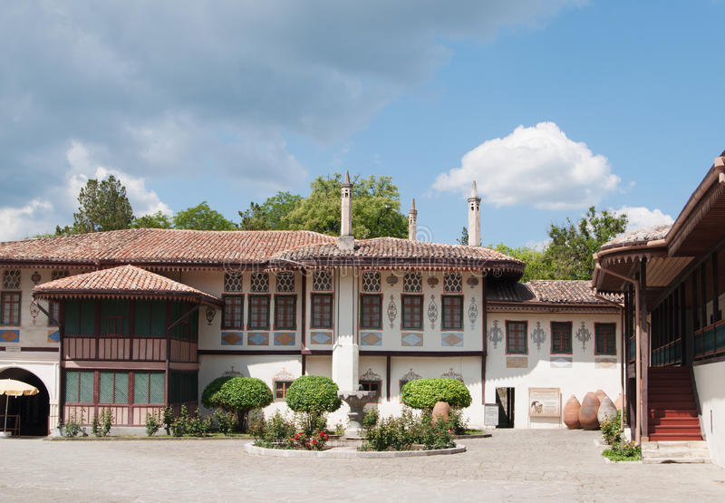 Khan`s Palace, Bakhchisaray, Crimea stock photography