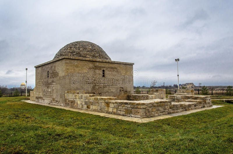 The Khan's tomb in Bolgar royalty free stock photo