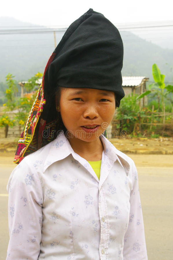 Khang ethnic girl royalty free stock images