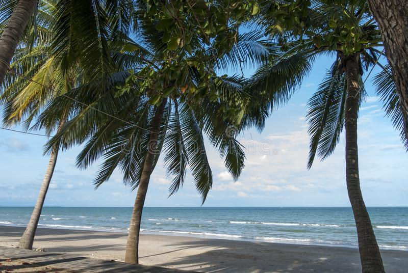 Khanom beach Nakhonsitammarat , Thailand. 