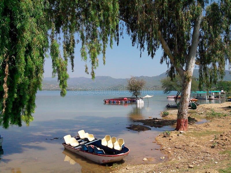 Khanpur水坝 免版税库存图片