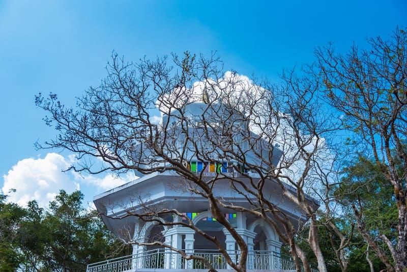 Khao在普吉岛敲响了观点,自然可以日夜是都,有猴子,观点 免版税库存图片